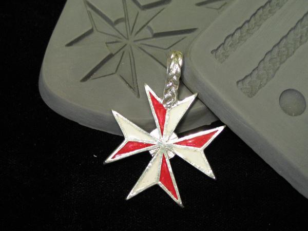 Maltese Cross Mould