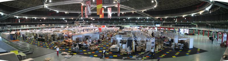 Panoramic view of Hobby-X 2005